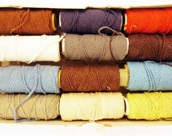24 assorted beading threads
