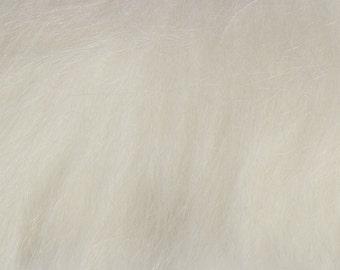 Faux fur longhair white