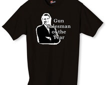 Gun Salesman Of The Year Funny Obama Shirt S-2XL
