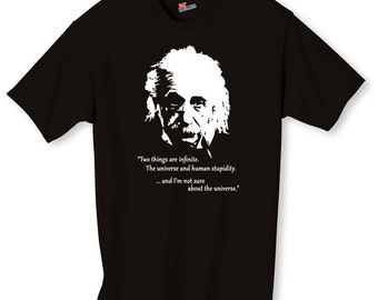 Albert Einstein Shirt S-2XL