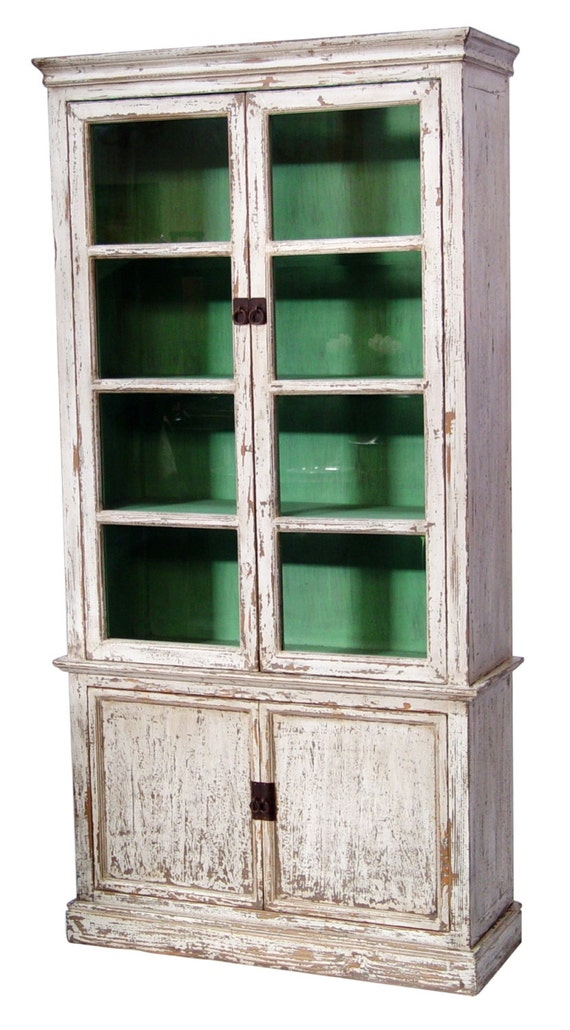 tall glass cabinet 1