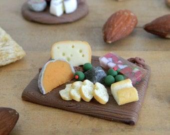Miniature cheese plate