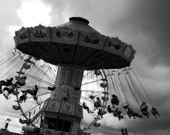 Black and white Photography, Haunted Photography, Weather photography(The Carnival)