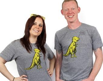 t-rex shirt, dinosaur tshirt, t-rex arms, bacon t-shirt, dino shirt, funny dinosaur shirt, men's t-shirt, men's gift idea, free shipping