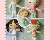 Lolly Dollies PDF sewing pattern