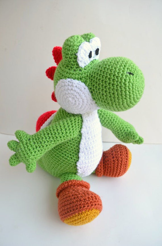 Crochet Yoshi : Coins & Money Collectible Glass Collectible Plates Dolls & Miniatures...