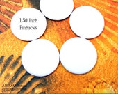 ABEO-(5)-1.5inch REGULAR Pinback Art Buttons....Five Mini Artist Canvas