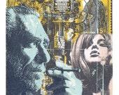 Don't Try  -  Charles Bukowski Screen Print by Print Mafia