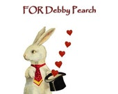 Special CUSTOM ORDER  for Debby Pearch