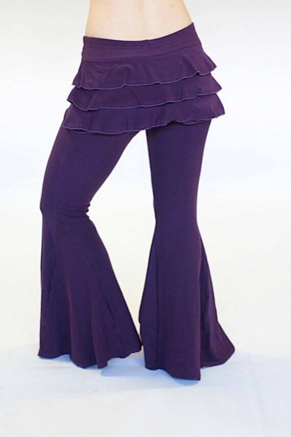Excellent  Pants  Buy Women Stripe Knit PantBoutique Knit Ruffle PantLadies
