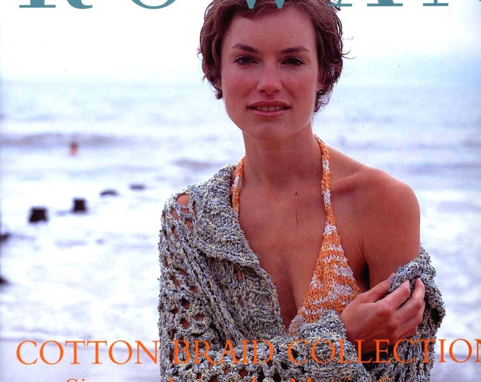 Rowan Cotton Braid collection pattern booklet garment and accessories knit and crochet Patterns