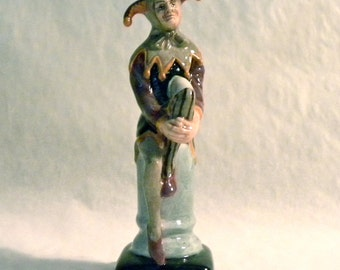 Royal Doulton Mini Figurine - The Jester HN 3335