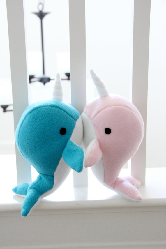 Roses Valentine S Day With Stuff Toys : Items similar to handmade narwhal plush toy valentines