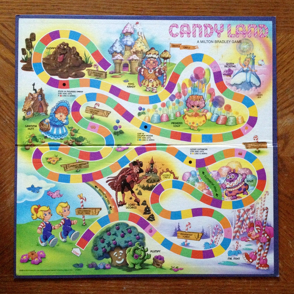 Vintage Candyland Board Game 31