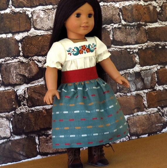 Josefina Birthday Dress: American Girl Josefina's Embroidered Camisa By