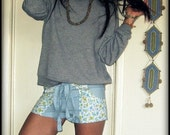 LOVE Up-cycled Hippie Shorts, Hot Pants