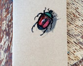 Bug Book, Painted Moleskine Pocket Journal