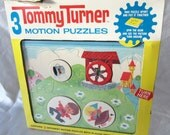 Child Game Motion Puzzle Tommy Turner Jack Jill Toy Rare Original 1985