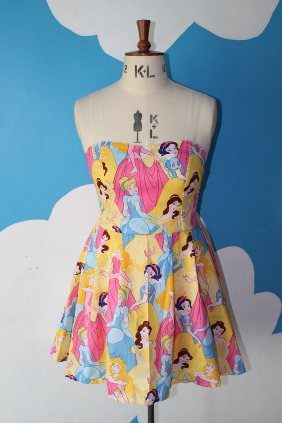LAST ONE - size 8-12 - disney princess sweet heart dress