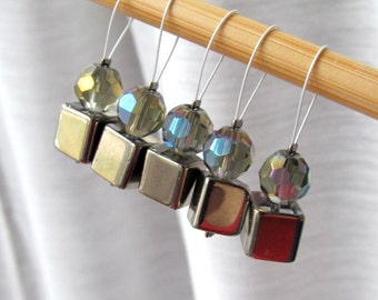 Le Freak  - Five Snag Free Stitch Markers - Fits Up To 5.5 mm (9 US) - Limited Edition