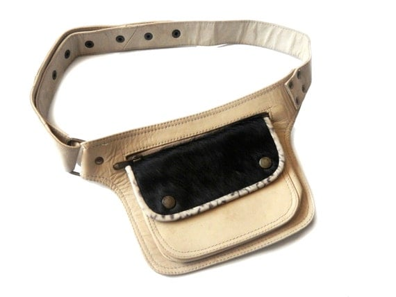 Unisex Leather Utility Belt