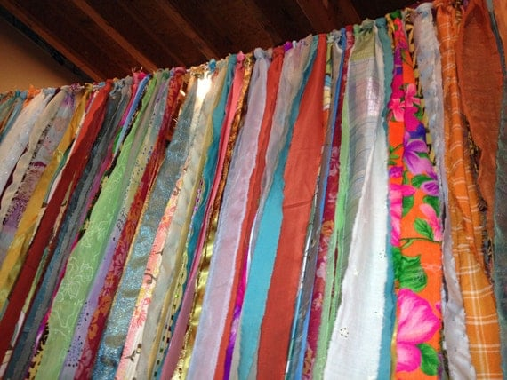 Hippie Teen Boho Garland Fabric Garland Bedroom By