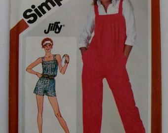 Simplicity 5266 Size 10 Misses' Jumpsuit Pattern UNCUT