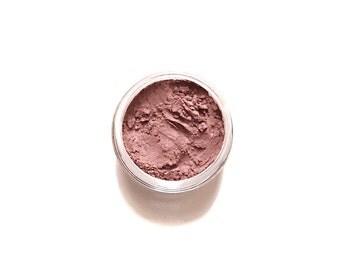 Vegan Mineral Eyeshadow - Gerbera Shade - Warm Pink  - Handcrafted Mineral Eye Shadow Makeup