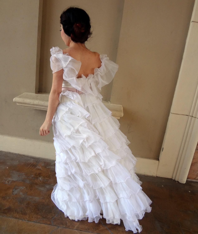 Southern Belle Bride Vintage Wedding Dress By Localovespirate