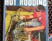 Popular Hot Rodding, January 1967, vintage car magazine, street rods, rat rods, race cars, man cave,  dragsters, hot rods, gas station