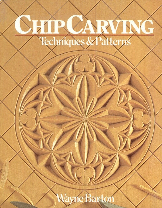 Chip carving book wayne barton woodcarving how to wood