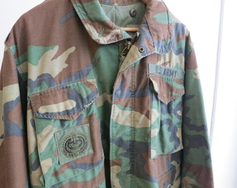 This We'll Defend Vintage Camo Jacket
