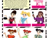 ALL 7 Lil Miss DOLLS and Dresses PDF Patterns
