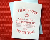 On The Couch With You Card