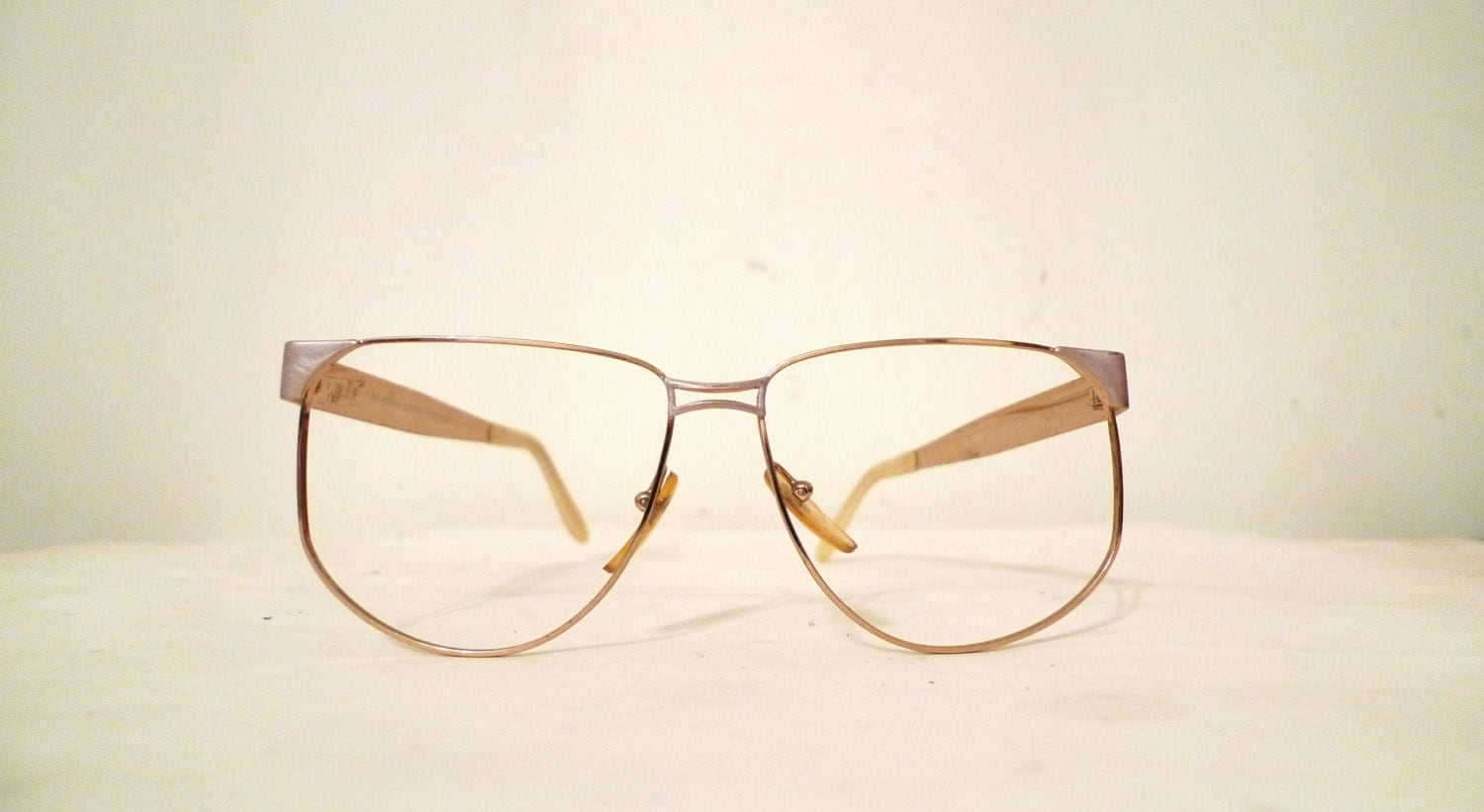 Big Pierre Cardin Aviator Frame Italy Eyeglasses Never Used