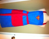 Superman Men's Embroidered Apron