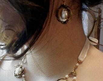 Romantic Princess Pearls Vintage Wedding Reproduction Treasure