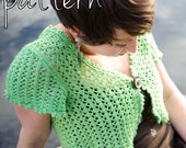 make your own Sweet Tea Lace Shrug (DIGITAL KNITTING PATTERN) 8 sizes, 29-50 inch bust
