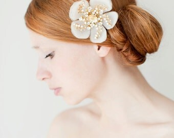 Bridal Hair Accessories, Bridal Hair comb, Hair Flower, Crystal headpiece - Style 224