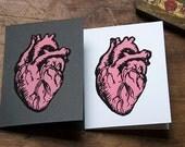 Valentine's Day-Blank Anatomical Heart Card