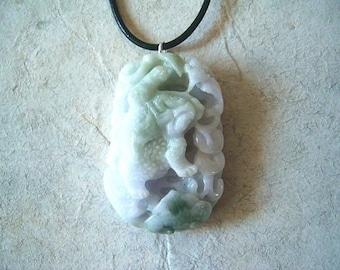 Jade Prosperity Frog Necklace