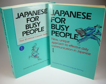 How to Speak Japanese For Busy People, Paperback and Audio Cassettes, Language Lessons, Learn to Speak Japanese in 30 minutes a day