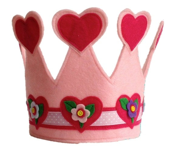 The Queen of Hearts Crown