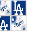 Dodgers Coasters