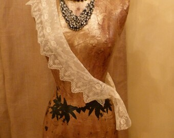 Vintage Inspired Dress Form Mannequin Art Decor OOAK Business Name Custom Free Ship & Layaway
