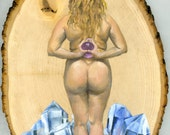 print of visionary nude g...