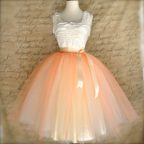 s tulle skirt in and ivory