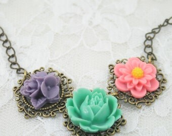 In The Garden  Necklace