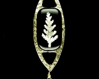Limited Edition Fine Silver Tree Pendant