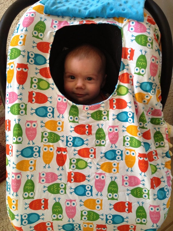Design Your Own Ultra Soft Infant Car Seat Cover By